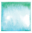 abstract green and blue watercolor vector image