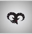 ram logo ideas design vector image vector image