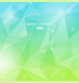 abstract background with transparent triangles in vector image vector image