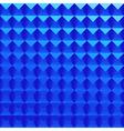 Abstract blue poligonal background vector image vector image