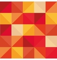 abstract square pattern background design vector image vector image