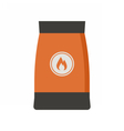 Barbecue Coal Bag vector image vector image