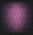 dark violet lace background vector image