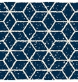 Seamless Hand Drawn Star Shape Grunge Retro vector image