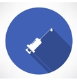 syringe icons vector image vector image