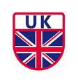 uk badge vector image