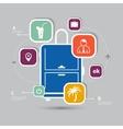 infographic travel icon for idea design vector image