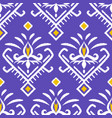 asian fabrics ikat seamless pattern vector image