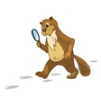 Beaver CREES Look for Funny Beaver by Keyword vector image vector image