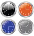 clocks 2 vector image