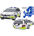 Denmark police car