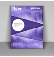 design a brochure or booklet vector image vector image