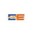 EE Logo vector image vector image