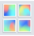 Fluid colors backgrounds set Applicable for vector image