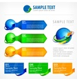 Infographic elements for vector image vector image