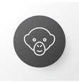monkey icon symbol premium quality isolated vector image