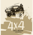 off road quotes-10b vector image vector image