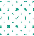 raw icons pattern seamless white background vector image vector image