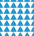seamless of blue abstract triangle background vector image vector image