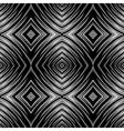 seamless op art texture vector image vector image