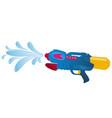 shooting water gun vector image
