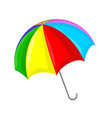 umbrella symbol icon design vector image vector image