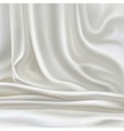 white silk vector image