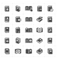 book filled icon vector image vector image