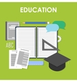Education online professional education vector image vector image