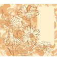 FrameWithDaisies vector image vector image