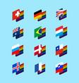lgbt state flag set 1 same-sex marriages symbol vector image vector image
