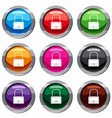 little bag set 9 collection vector image vector image