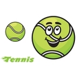 Tennis icon or emblem vector image