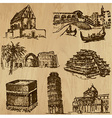 Architecture - An hand drawn vector image vector image