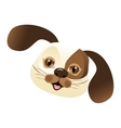 dog pet mascot cute vector image vector image