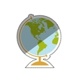 School world globe vector image vector image