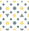 seamless pattern design modern stylish texture vector image vector image