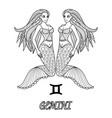 gemini vector image