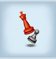 chess 17 vector image vector image