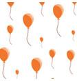 decoration celebration flying balloons background vector image vector image