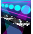 DJ Turntable vector image vector image