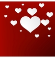 Heart for Valentines Day Background EPS10 vector image vector image