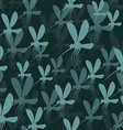 mosquitoes seamless pattern 3d background