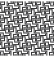 Seamless pattern of intersecting zigzag shapes vector image vector image