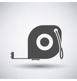 Constriction tape measure icon vector image