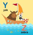 Alphabet y z