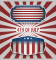 american 4th of july holiday banners vector image vector image