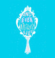 and even mirror lies lettering neon poster vector image vector image