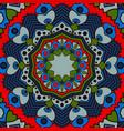beautiful circular pattern unusual background vector image vector image