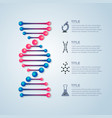 dna info vector image